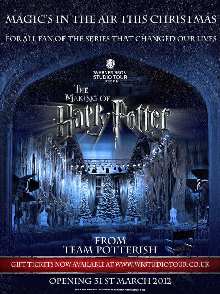 """WB lança aplicativo de """"Boas Festas"""" para promover o <i>The Making of Harry Potter</i>"""